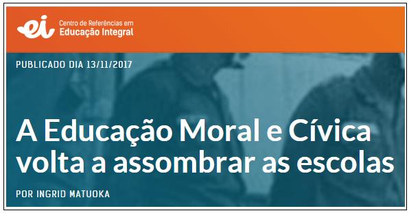 Educação Moral e Cívica em Mogi das Cruzes