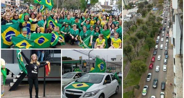 Apoiadores de Bolsonaro